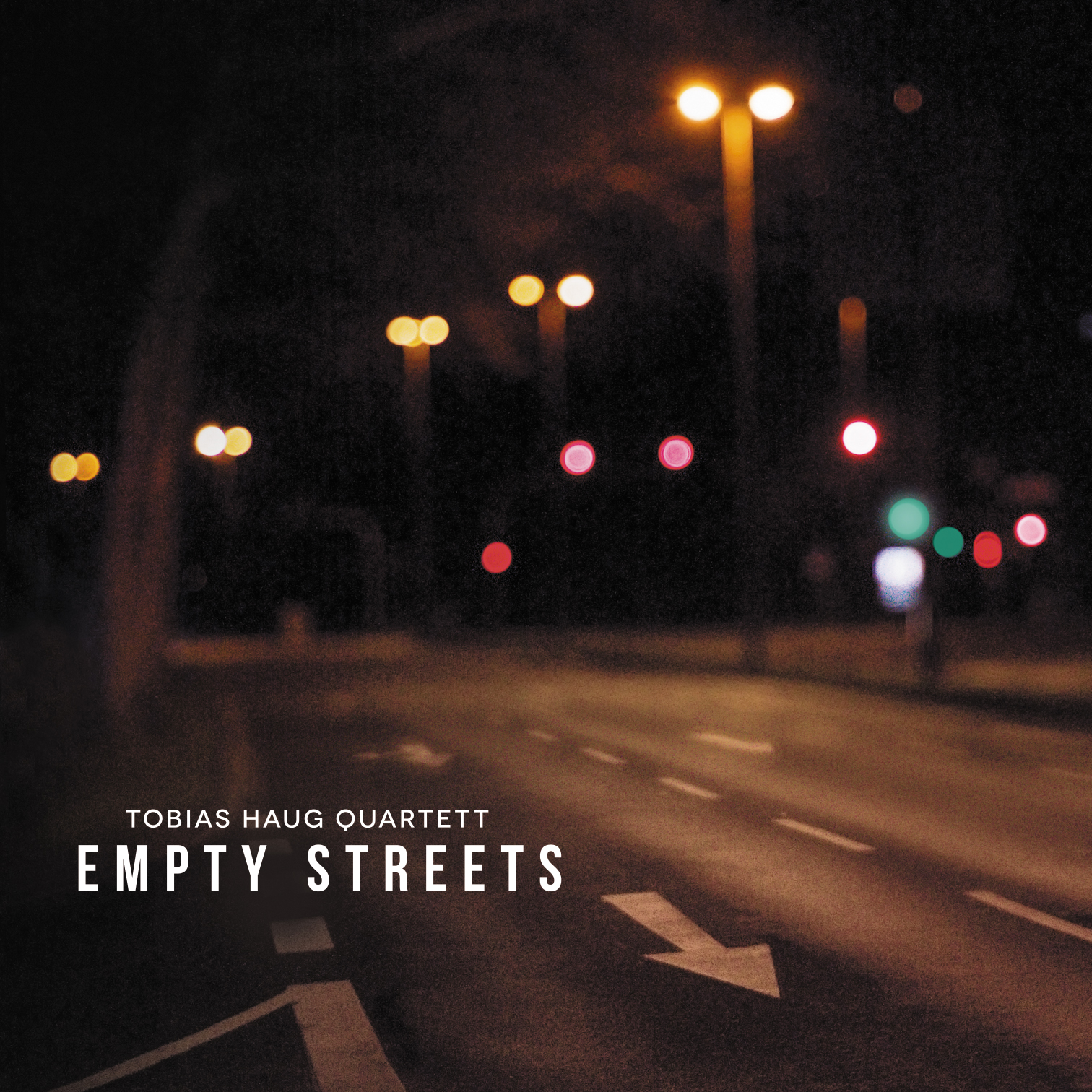 Empty Streets CD Tobias Haug Quartett